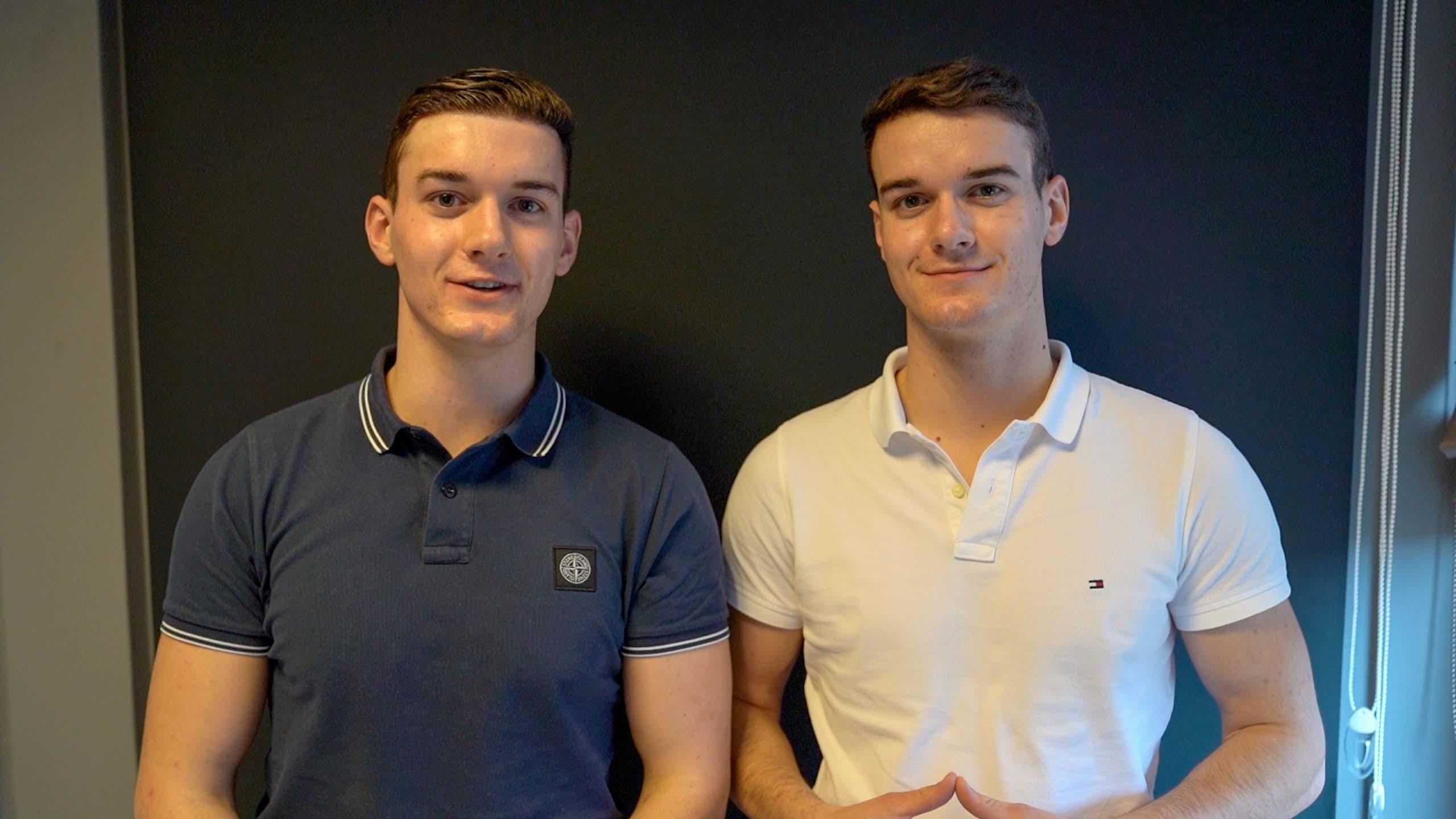 Lucien en Florian